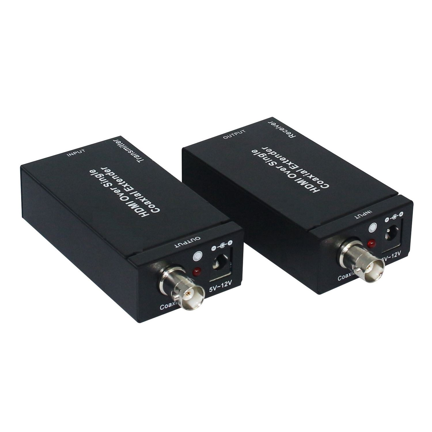 HDMI + IR over single 75ohm RG-6U Coax Cable Extender Balun Sender Receiver BNC 80 channels hdmi to dvb t modulator hdmi extender over coaxial
