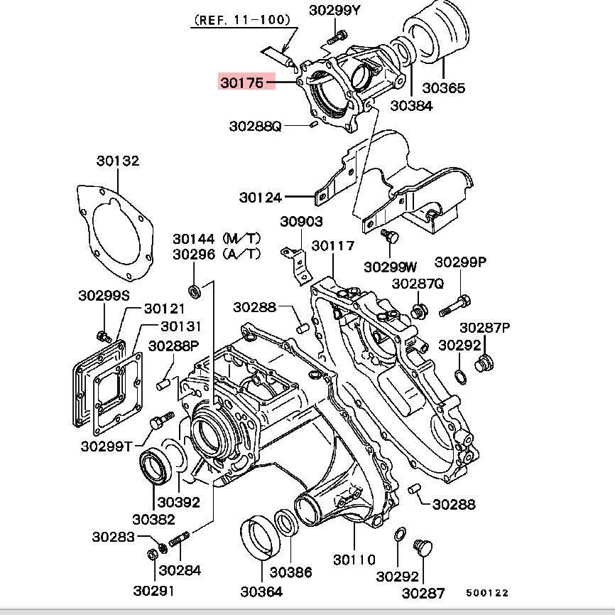 Montero Sport Transmission Diagram