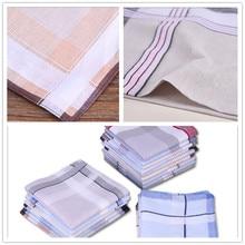 Towel. Handkerchief. Cotton Men 40cm--40 Lattice Sweat-Absorbent The A-Variety-Of-Style