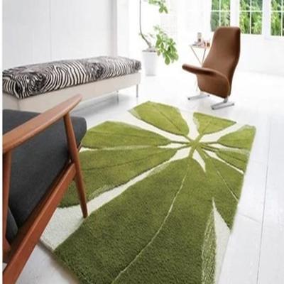 ikea foglie verdi tappeti camera da letto 160 x 230 cm moda acrilico ...