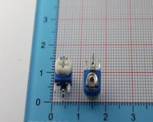 20 шт. Регулируемое сопротивление 200R RM-063-201 переменный резистор 200OHM регулируемый потенциометр 201 200 Ом