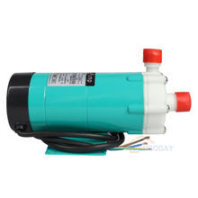 ФОТО Centrifugal Magnetic Drive Water Pump MP-15RM 220V Photograph Processing Cycle Filter Desalting Equipment Magnet Pump Green