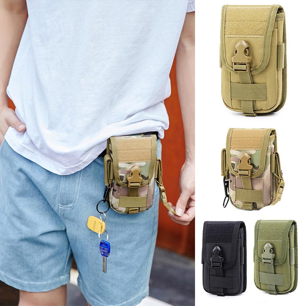 PinShang Waterproof Travel Waist Bag Outdoor Multifunctional Cards Passports Cellphone Holder Pouch