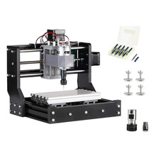 CNC 1610 PRO GRBL Diy Mini CNC Machine Offline Control Board 3 Axis Pcb Milling Machine Wood Router Working Area 180x100x45mm ic cnc grinding machine parts mould jigs board repairing chip ic cnc router parts for repair ipad 2 3 4