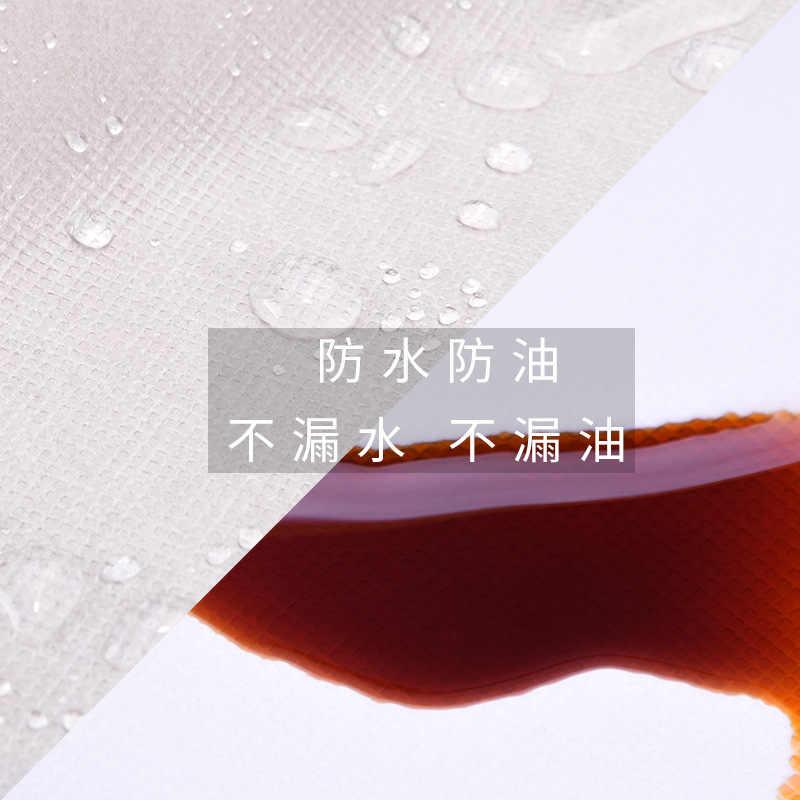 100 ピースホワイトネイルアート使い捨てタオル防水不織布足マニキュアショップため足拭くマット爪パッド