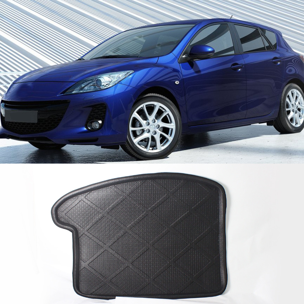 Rubber floor mats mazda cx 5 - Rear Trunk Cargo Mat Boot Liner Suitable Rubber Floor Protector Trunk Tray Mat Anti Slip