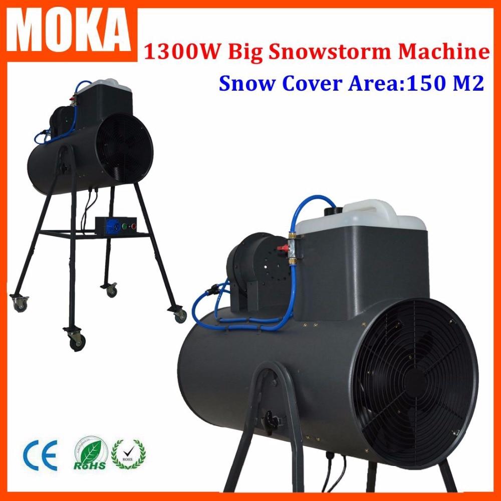 Big Snow Machine Wedding Snow