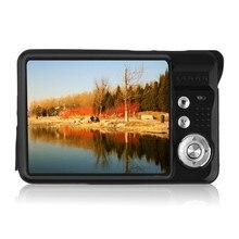 Buy online Mini 2.7″ TFT LCD Digital Camera 18MP HD 720P 8x Zoom Camcorder Anti-Shake Micro Camera Video CMOS Sensor US/EU/UKplug Black