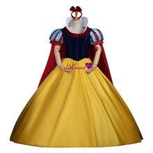 Ainiel cosplay princesa snow white dress fiesta de halloween cosplay velvet cs341411