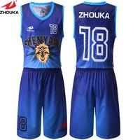 Adult Child Kids Basketball Jerseys Custom Basketball Suits Shirts Shorts Digital Sublimation Printing