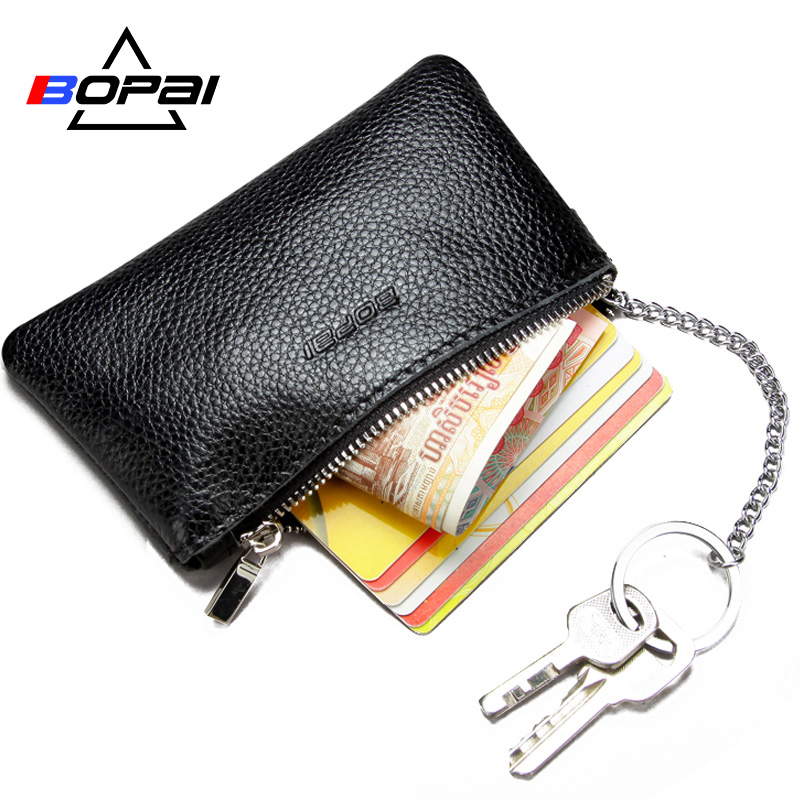 Genuine Leather Coin Purse Leather Zipper Coin Pouch Men Women Coin Wallet Change Pocket Leather Key Bag monederos mujer monedas gyd 2016 new silicone coin purse monederos pouch case change animal purse patterns o bag rectangle silicon bag gyd0006