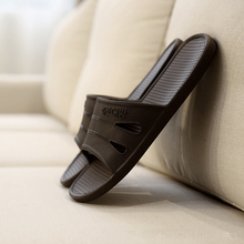 Summer Lovers Slippers Home Male Summer Slip-resistant at Home Plastic EVA Bathroom Acupoint Massage Slippers