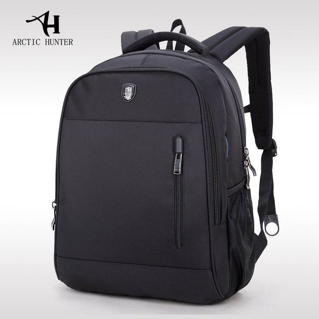 02a8e1286e ARCTIC HUNTER Laptop Bags Waterproof School Backpack Bag For College Simple  Design Men Casual Male New Backpack School Bags