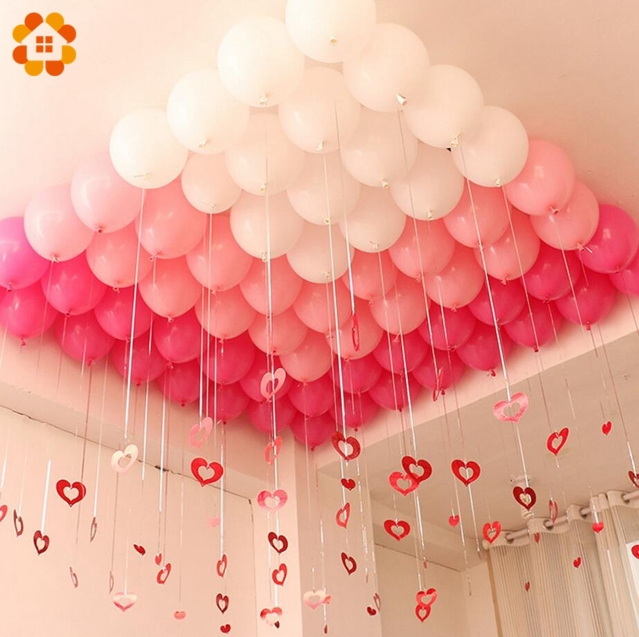 30PCS 10inch 3 Colors Balloons Team Bride Latex Inflatable