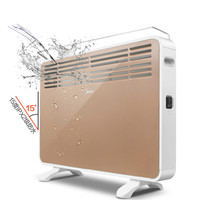Midea Portable Electric Heater 220V 2100W 3 Gear Energy Saving Waterproof Mute Instant Hot Heater Small