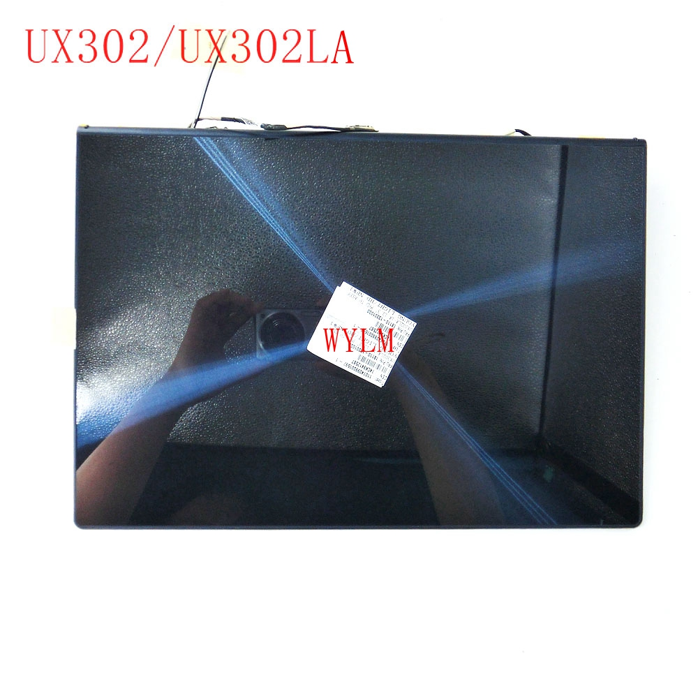 UX302LA For Asus UX302 UX302L UX302LA LCD Display Panel +Touch Screen Digitizer Glass Sensor Assembly Upper Half Part 100% test for asus zenpad 10 z300 z300c z300cg p021 lcd display touch screen digitizer panel assembly