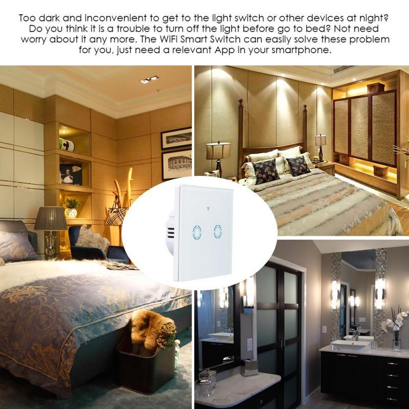 Interruptores e Relés luz lâmpadas led Control : Wifi Remote Control, Touch Control