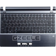 New  Keyboard FOR ASUS  Eee PC 1215P 1215N 1215T 1215B U24 U24E 1225B 1225C VX6S UK  laptop keyboard BLACK With C shell