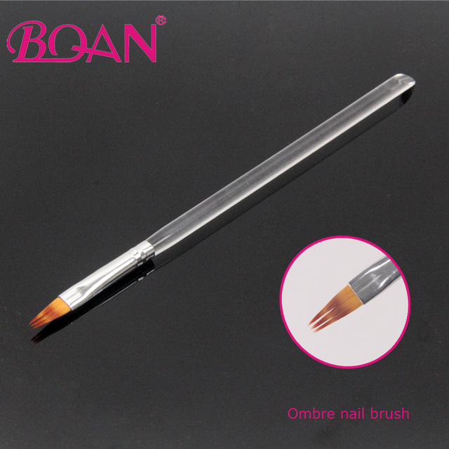 BQAN New Special Design 6# Acrylic Handle Ombre Brush Nail Art ...
