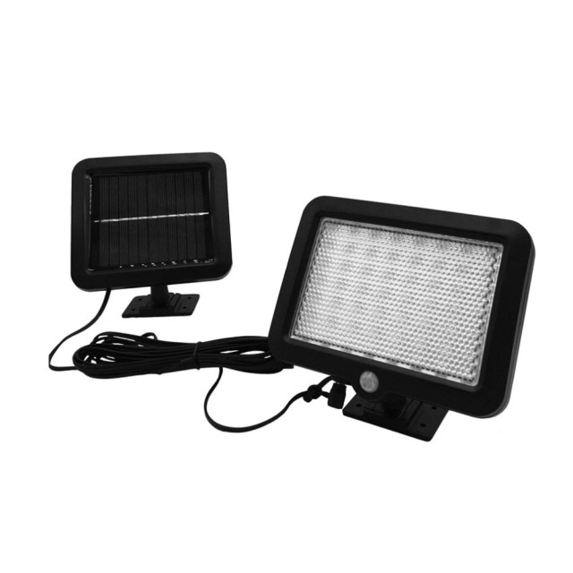 ICOCO 56 LED Solar Sensor PIR Body Motion Lamp Outdoor Waterproof Wall Lighting