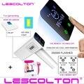 2020 Lescolton, 4 в 1, Эпилятор icecool IPL, постоянное лазерное удаление волос с ЖК-дисплеем, лазерный триммер для бикини, фотоэпилятор