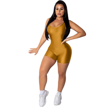 new summer hot womens  fashion slim slimming vest jumpsuit candy color one-piece shorts