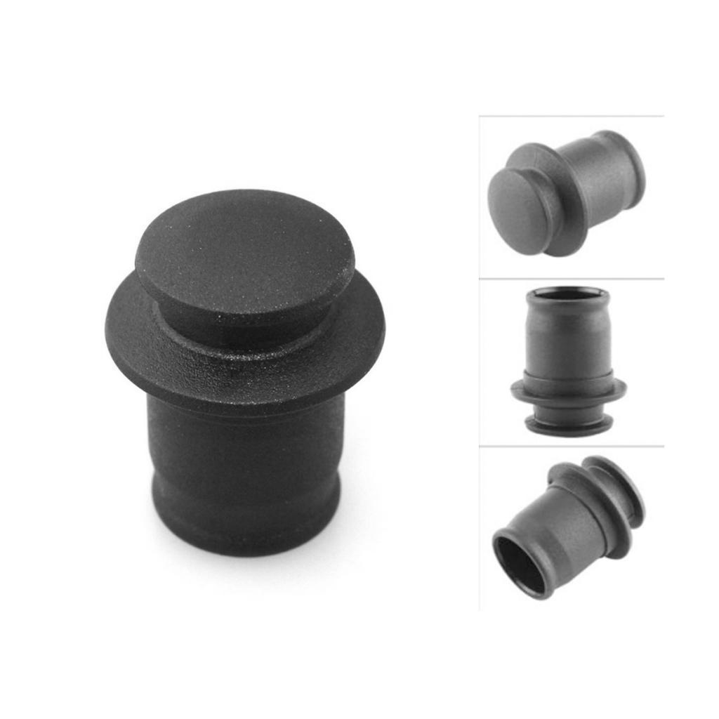 3 Pieces Universal 12V Car Cigarette Lighter Socket Plug Dust Cover Cap Waterproof ABS Fit For 0.83-0.87 Inch