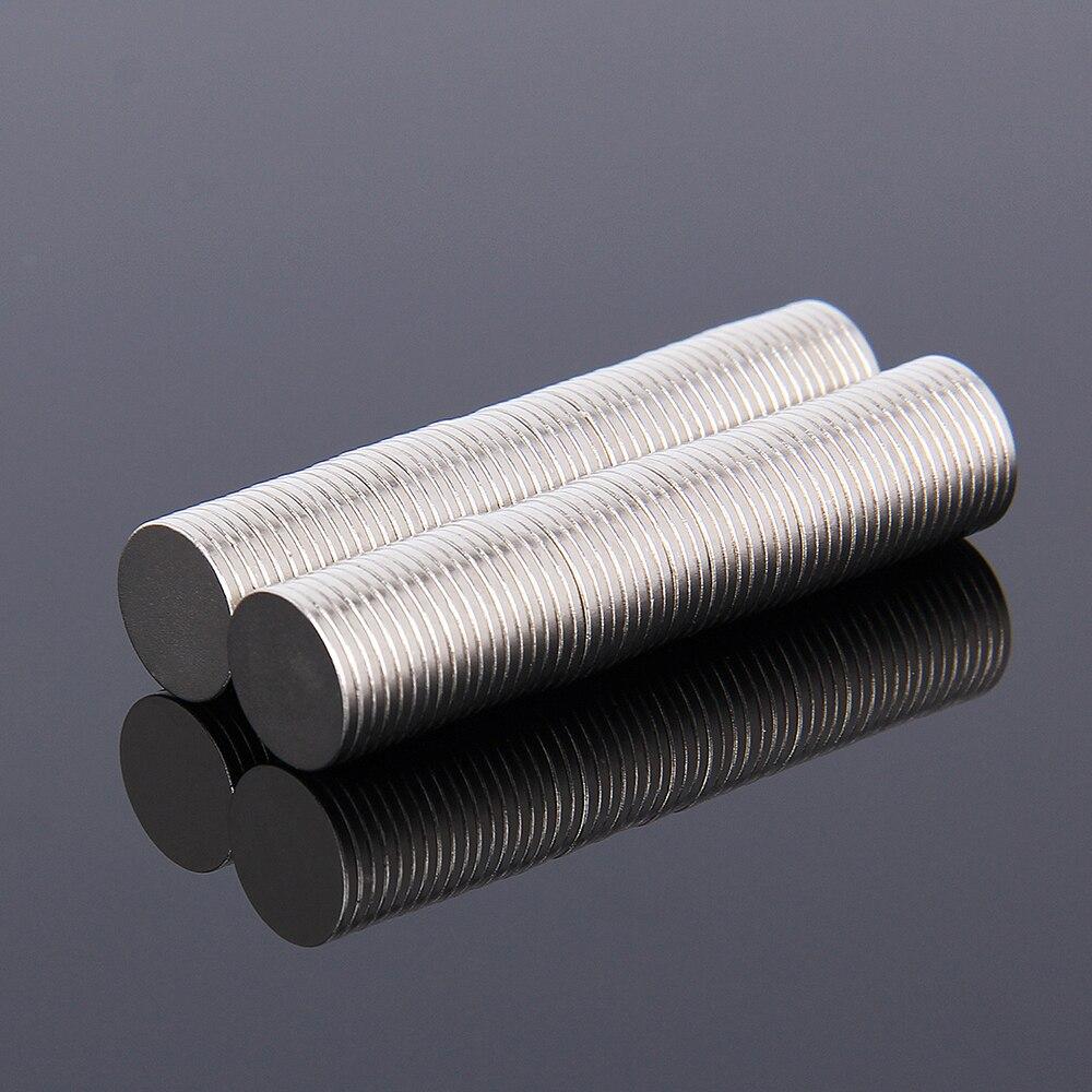 Hakkin 100 шт. 10*1 мм N35 Супер Сильный редкоземельных магнитов ndfeb неодимовый магнит 10 мм * 1 мм круглый цилиндр постоянный Простыни
