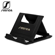 купить SeenDa Phone Holder Stand for iPhone 8 X 7 6 Foldable Mobile Phone Stand for Samsung Galaxy S9 S8 Tablet Stand Desk Phone Holder по цене 110.87 рублей