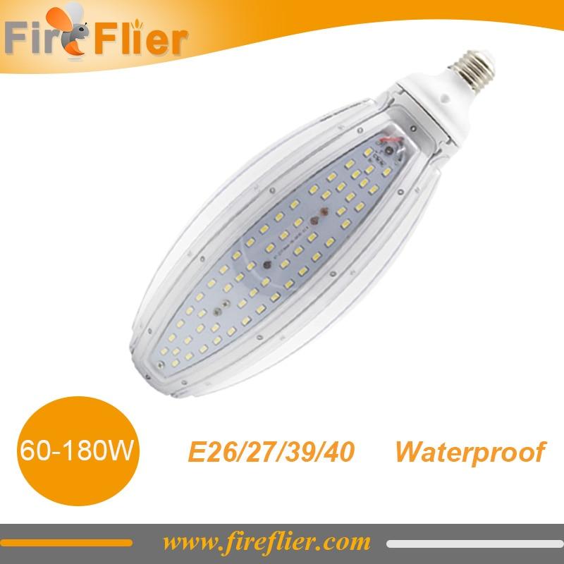 цена на 5pcs super brightness 80w 60w E26 E40 100w LED Corn light Waterproof 120w Warehouse Lamp 150w Replaces 400W Metal Halide bulb