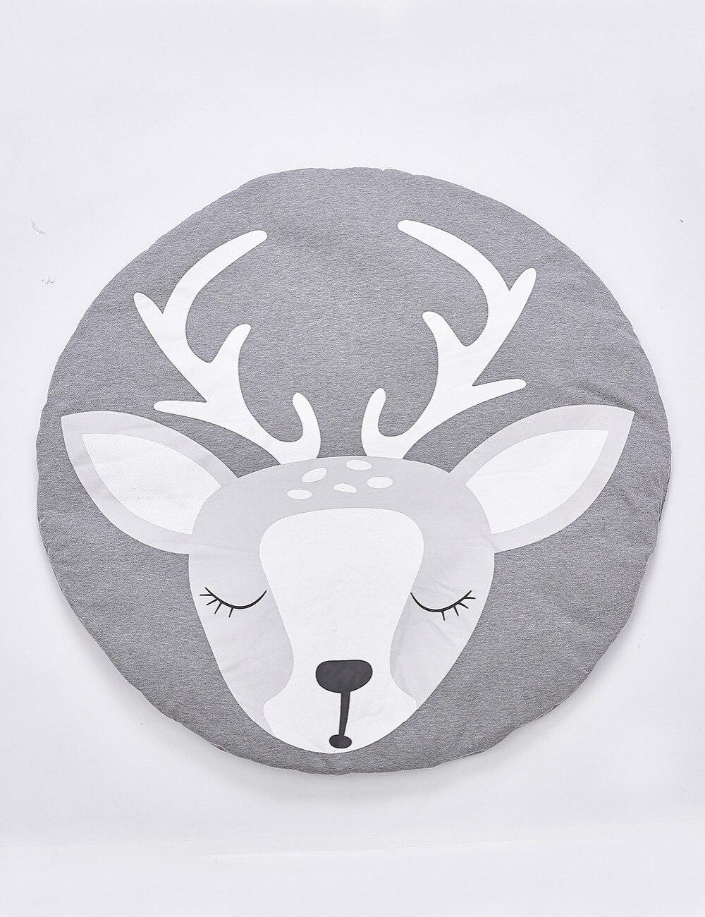 Cotton baby mat deer
