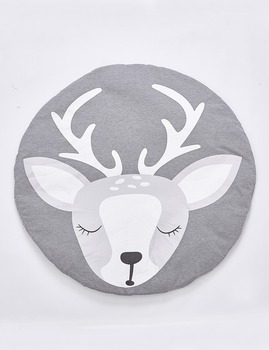 Cotton baby mat deer