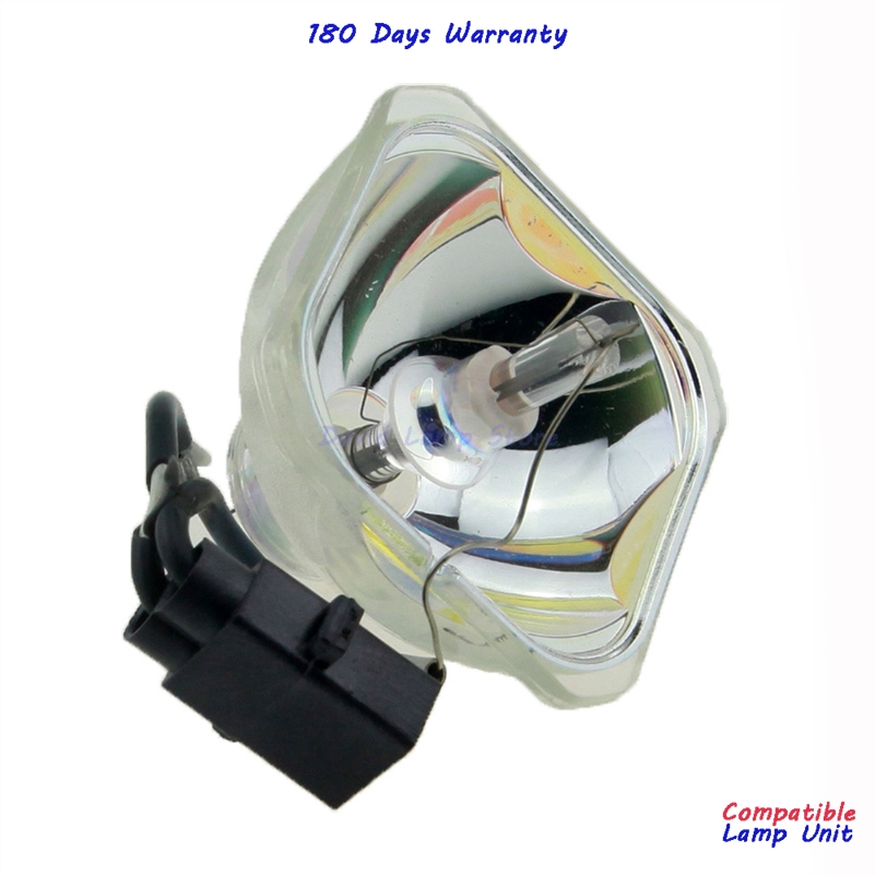 High quality ELP53 V13H010L53 bare bulb lamp for EB 1920W EB 1925W Powerlite 1925W H314A Powerlite 1830 Powerlite 1915 VS400 in Projector Bulbs from Consumer Electronics