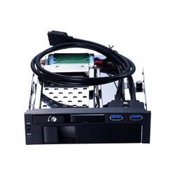 Оптический привод пространство 2.5 дюймов SATA HDD/SSD и 3.5 дюймов SATA HDD mobile rack с Светодиодный индикатор и поддержка горячей замены