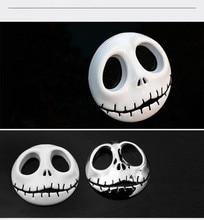 Подарок на Хэллоуин 3D череп Автомобильная наклейка металлический Призрак для Harley Davidson Мотоцикл авто мотоцикл стикер автомобильный Стайлинг для KIA Chevrolet