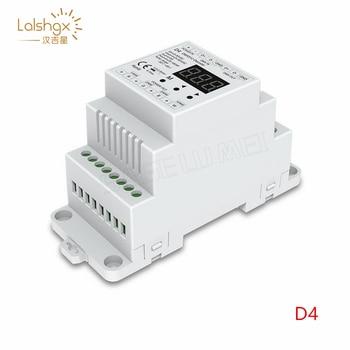 D4 DC5V 12V 24V 36V 4CH PWM constant voltage/constant current CC CV DMX decoder DMX512 LED Controller For RGB RGBW LED Tape lamp цена 2017
