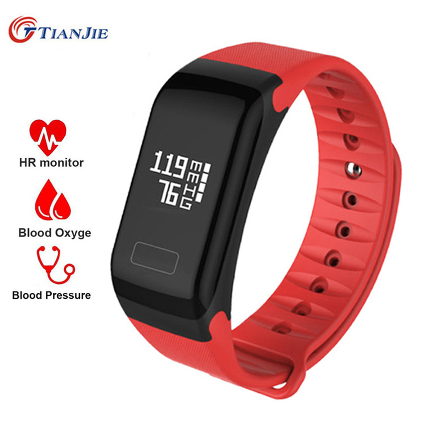 Fitness Tracker Wristband Heart Rate Monitor Smart Band F1 Smartband Blood Pressure With Pedometer Bracelet Sport Watch fashion women color screen smart band wristband heart rate blood pressure monitor fitness bracelet tracker smartband pedometer