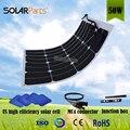 Solarparts 1 шт. 50 Вт PV открытый Солнечный модуль Панели солнечных батарей спикер спорт путешествия морской яхты RV дом на колесах использовать.