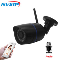 IP Camera Wifi 960P 1080p Wireless Wired P2P CCTV Bullet Outdoor Camera With MiscroSD Card Slot Max 64G h264 wi fi can