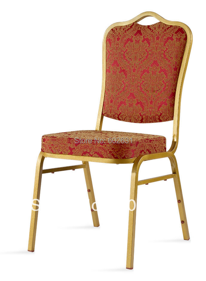 Hot sale stacking function banquet chair LUYISI2080R hot sale stacking steel banquet chair luyisi1039