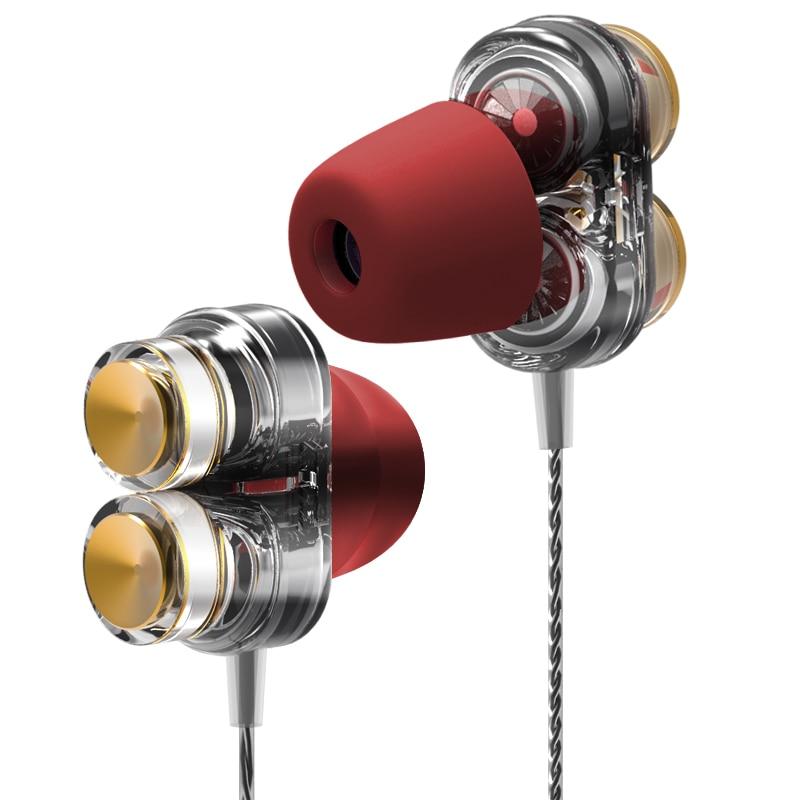TWOM Z02 Dual Dynamic kaiutinkuulokkeet mikrofonilla matkapuhelimeen - Kannettava ääni ja video - Valokuva 2