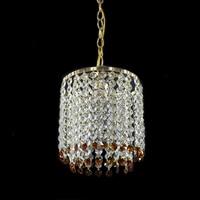Retro Iron crystal luster Chandeliers ceiling American Style Chandelier Lighting modern E27 LED Lamp For Living Room Bar bedroom