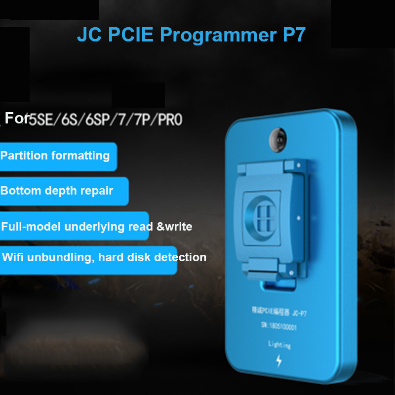 JC Pro1000S HDD NAND Programmer JC P7 NAND Read Write Repair Tools For iPhone 5SE 6S 6SP 7 7P iPad ProJC Pro1000S HDD NAND Programmer JC P7 NAND Read Write Repair Tools For iPhone 5SE 6S 6SP 7 7P iPad Pro