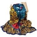 2016 new scarf women long silk scarf fashion Crocodile pattern scarf  female fashion luxury shawl pashmina