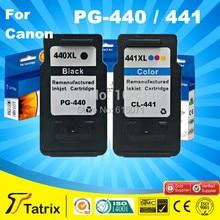 Бесплатная доставка PG440 CL441 Замены Чернильного картриджа для Canon pg-440 cl-441 printer use in MG3240, MG4240, MG2440, MG2540, MG3540