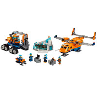 City Arctic Supply Plane Building Blocks Kits Bricks Sets Classic Model Toys Kids Gift Marvel Compatible Legoe