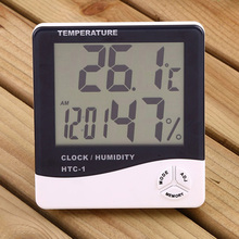 Hygrometer accuracy Temperature Clock