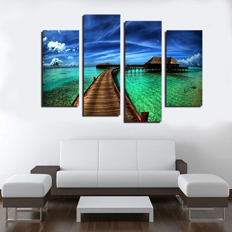 Кадр 4 панелі сучасний вид на море - Домашній декор - фото 2