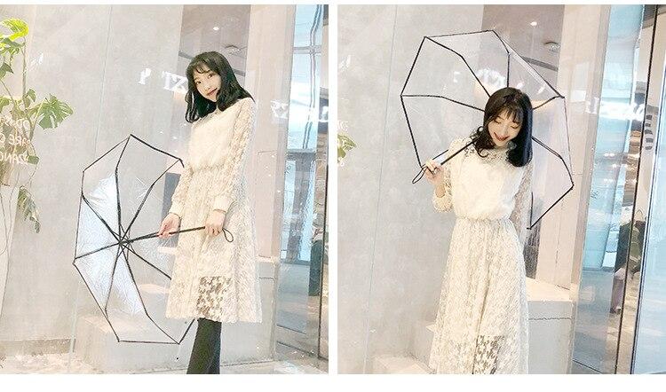 Umbrella Chuva Mulheres Guarda-chuva de Proteção Ambiental