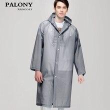 Модный женский и мужской прозрачный дождевик из ЭВА, портативный плащ для путешествий на открытом воздухе, дождевик, водонепроницаемый, для кемпинга, с капюшоном, пончо, пластиковый дождевик